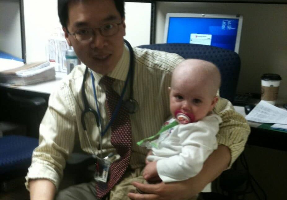 Keira And Dr. Huang - June 2012